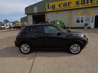USED 2016 66 NISSAN JUKE 1.2 N-CONNECTA DIG-T 5d 115 BHP
