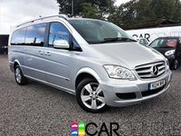 2014 MERCEDES-BENZ VIANO 2.1 AMBIENTE CDI BLUEEFFICENCY 5d 163 BHP £19495.00