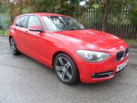 USED 2012 62 BMW 1 SERIES 1.6 116I SPORT 5d 135 BHP