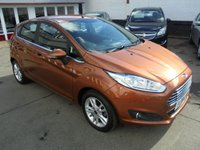 USED 2015 15 FORD FIESTA 1.2 ZETEC 5d 81 BHP Retail price £8495,with £500 minimum part exchange allowance,balance price £7995.
