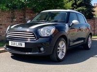 2011 MINI COUNTRYMAN 1.6 COOPER D 5d 112 BHP £5890.00