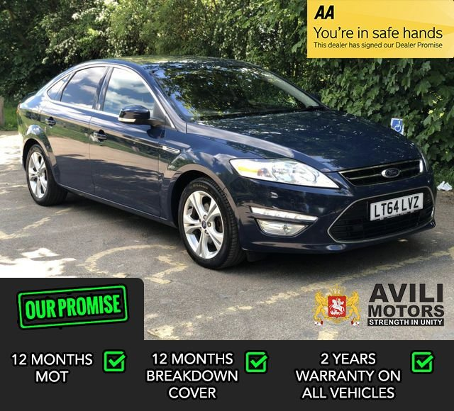 USED 2014 64 FORD MONDEO 1.6 TITANIUM X BUSINESS EDITION TDCI START/STOP 5d 114 BHP