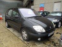 2003 RENAULT SCENIC 1.4 AUTHENTIQUE 16V 5d 94 BHP £490.00