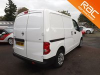 USED 2016 66 NISSAN NV200 1.5 DCI ACENTA 1d 90 BHP