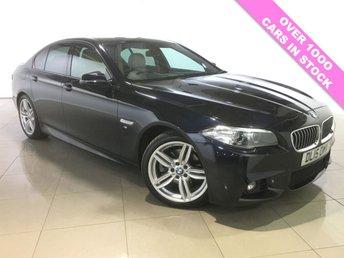 2015 BMW 5 SERIES 2.0 520D M SPORT 4d AUTO 188 BHP £14790.00