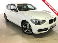 USED 2014 64 BMW 1 SERIES 2.0 116D SPORT 5d AUTO 114 BHP 1 Owner/Bluetooth/Air Con