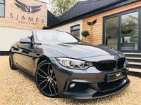 2015 BMW 4 SERIES 2.0 420D M SPORT 2d AUTO 188 BHP £21990.00