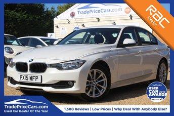 2015 BMW 3 SERIES 2.0 318D SE 4d AUTO 141 BHP £10750.00