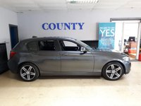 USED 2012 61 BMW 1 SERIES 2.0 116D SPORT 5d 114 BHP * LONG MOT * FULL LEATHER *