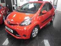 2014 TOYOTA AYGO 1.0 VVT-I MOVE WITH STYLE 5d 68 BHP £5999.00