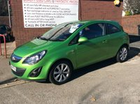 USED 2014 64 VAUXHALL CORSA 1.2 EXCITE AC 3d 83 BHP **ZERO DEPOSIT FINANCE AVAILABLE** PART EXCHANGE WELCOME