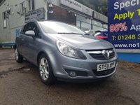 2010 VAUXHALL CORSA 1.2 SXI 3d 83 BHP, 83000 miles, 3 owners £2995.00
