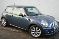 2011 MINI HATCH COOPER 1.6 COOPER 3d 122 BHP £4395.00