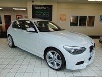 2015 BMW 1 SERIES 2.0 116D M SPORT 5d 114 BHP £12995.00