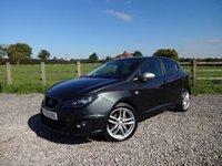 2011 SEAT IBIZA 2.0 CR TDI FR 5d 140 BHP £SOLD