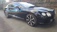 2013 BENTLEY CONTINENTAL 4.0 GT V8 2d AUTO 500 BHP £59950.00