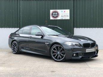 2014 BMW 5 SERIES 3.0 530D M SPORT 4d AUTO 255 BHP £18995.00