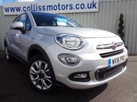 2016 FIAT 500X 1.4 MULTIAIR POP STAR 5d 140 BHP £9995.00