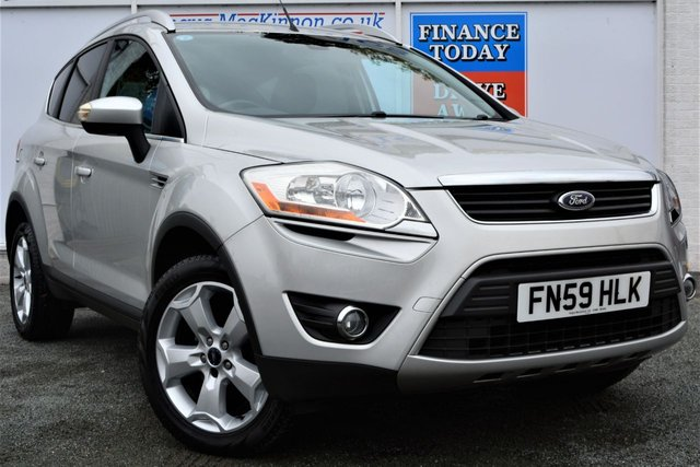 2009 59 FORD KUGA 2.0 TITANIUM TDCI AWD 4x4 Lovely 5d Family SUV