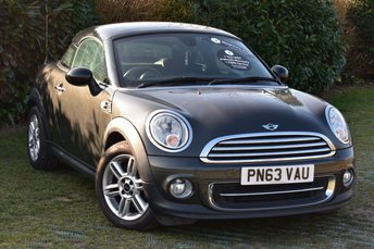 2013 MINI COUPE 1.6 COOPER 2d AUTO 120 BHP £8500.00