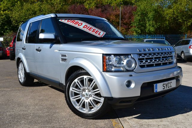 USED 2011 61 LAND ROVER DISCOVERY 3.0 4 SDV6 HSE 5d AUTO 255 BHP 8 Speed Gearbox 7 SERVICE STAMPS ~ SAT NAV ~ HEATED LEATHER