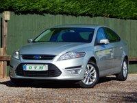 2010 FORD MONDEO 2.0 ZETEC TDCI 5d 114 BHP £4570.00