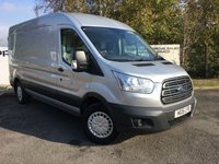 USED 2015 15 FORD TRANSIT 350 RWD 2.2 155 BHP TREND H/R L3 H2 **70 VANS IN STOCK**