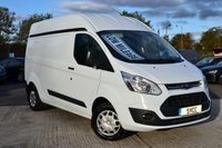 2016 FORD TRANSIT CUSTOM 2.0 290 TREND HIGH ROOF P/V 5d 104 BHP L2H2 £14999.00