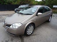 2005 NISSAN PRIMERA 1.8 SX 5d 114 BHP £1395.00