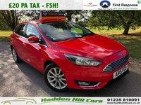 2015 FORD FOCUS 1.0 TITANIUM 5d 124 BHP £8795.00