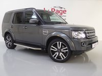 USED 2015 15 LAND ROVER DISCOVERY 4 3.0 SDV6 HSE 5d AUTO 255 BHP 7 SEATER