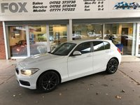 USED 2015 15 BMW 1 SERIES 1.5 116D SPORT 5d 114 BHP STUNNING ALPINE WHITE 116 SPORT 5 DOOR