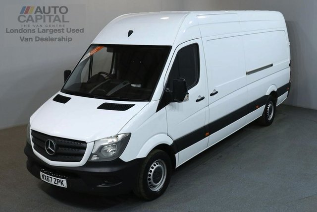 2017 67 MERCEDES-BENZ SPRINTER 2.1 314CDI 140 BHP LWB H/ROOF EURO 6 PANEL VAN EURO 6 ENGINE / SPARE KEY