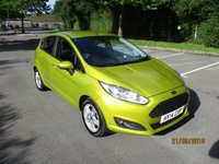 USED 2014 14 FORD FIESTA 1.0 ZETEC 5d 99 BHP ABSOLUTELY STUNNING EXAMPLE !!