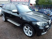 USED 2007 07 BMW X5 3.0 D SE 7STR 5d AUTO 232 BHP 7 SEATER, REAR DVD, FULL SERVICE HISTORY, GREAT VALUE