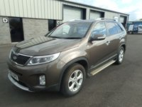 2013 KIA SORENTO 2.2 CRDI KX-2 5d 194 BHP LEATHER £10991.00