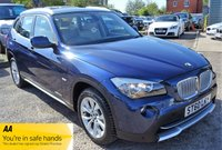 USED 2010 60 BMW X1 2.0 XDRIVE23D SE 5d AUTO 201 BHP BMW SERVICE STAMPS  MAGNOLIA LEATHER  HEATED SEATS