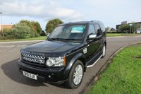 2011 LAND ROVER DISCOVERY 3.0 4 SDV6 XS 7 Seats,Sat Nav,Leather £19995.00