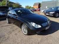USED 2005 05 MERCEDES-BENZ CLS CLASS 5.0 CLS500 4d AUTO 306 BHP REDUCED PRICE TO CLEAR PART EXCHANGE     RECEIPTS OF WORK AS REQUIRED