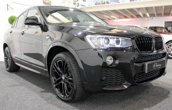 2016 BMW X4 2.0 XDRIVE20D M SPORT 4d AUTO 188 BHP