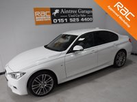 USED 2014 14 BMW 3 SERIES 3.0 330D XDRIVE M SPORT 4d AUTO 255 BHP WHAT A CAR FAST ECONOMICAL AND AMAZING GERMAN BUILD QUALITY IN GLEAMING WHITE,WITH BLACK DAKOTA HEATED LEATHER, ONE OWNER FROM NEW WITH FULL BMW SERVICE HISTORY, 2 KEYS, HARMON KARDON PROFESSIONAL MEDIA PACK, M SPORT PLUS PACKAGE, LOOKS AND DRIVES LIKE NEW                                     Information Please Call Now on 0151525 4400,  07967141248. Family Run Business Since 1990