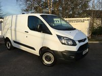 USED 2014 14 FORD TRANSIT CUSTOM WORKSTATION 290 2.2 100 BHP L1  **70 VANS IN STOCK **