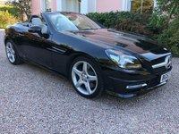 2013 MERCEDES-BENZ SLK 2.1 SLK250 CDI BLUEEFFICIENCY AMG SPORT 2d AUTO 204 BHP £14795.00