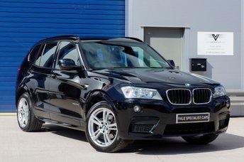 2014 BMW X3 2.0 XDRIVE20D M SPORT AUTO (SAT NAV / PANORAMIC ROOF) £SOLD