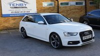 USED 2014 63 AUDI A4 2.0 AVANT TDI QUATTRO S LINE BLACK EDITION S/S 5d AUTO 174 BHP