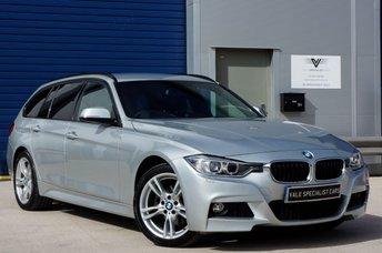 2013 BMW 3 SERIES 2.0 320D XDRIVE M SPORT TOURING AUTO (SAT NAV)  £SOLD