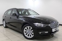 USED 2014 63 BMW 3 SERIES 2.0 320D XDRIVE MODERN TOURING 5DR 181 BHP 1 Owner Full Service History FULL SERVICE HISTORY + HALF LEATHER SEATS + SAT NAVIGATION + PARKING SENSOR + BLUETOOTH + CRUISE CONTROL + CLIMATE CONTROL + MULTI FUNCTION WHEEL + 17 INCH ALLOY WHEELS