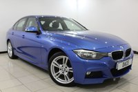 USED 2013 63 BMW 3 SERIES 2.0 320D XDRIVE M SPORT 4DR 181 BHP HEATED LEATHER SEATS + SAT NAVIGATION + BLUETOOTH + PARKING SENSOR + CRUISE CONTROL + MULTI FUNCTION WHEEL + CLIMATE CONTROL + 18 INCH ALLOY WHEELS