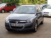 2006 VAUXHALL ASTRA 1.8 LIFE A/C 5d AUTO 140 BHP £1550.00
