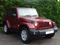 """USED 2008 58 JEEP WRANGLER 2.8 SAHARA 2d AUTO 175 BHP Full Service History, Genuine Low Mileage, Rear Parking Sensors, 18"""" Alloy Wheels, Cruise Control, Rare Example, Tinted Glass, Electric Windows, AUX, Electric Windows, MOT Until September 2019, Spare Key, Drive Away In Under 1 Hour"""
